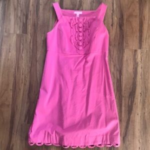 Lily Pulitzer cotton shift dress size 4